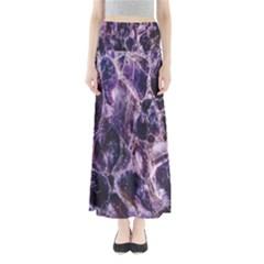 Agate Naturalpurple Stone Maxi Skirts