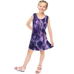 Agate Naturalpurple Stone Kids  Tunic Dress