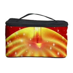 Advent Candle Star Christmas Cosmetic Storage Case