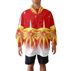 Advent Candle Star Christmas Wind Breaker (Kids)