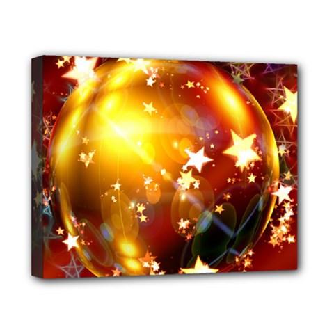 Advent Star Christmas Canvas 10  x 8