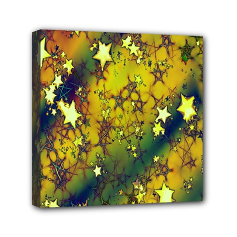 Advent Star Christmas Mini Canvas 6  x 6