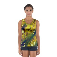 Advent Star Christmas Women s Sport Tank Top