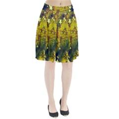 Advent Star Christmas Pleated Skirt