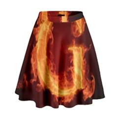 Fire Letterz G High Waist Skirt