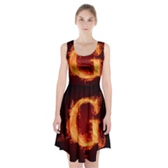 Fire Letterz G Racerback Midi Dress