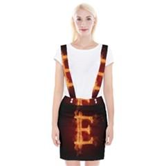 Fire Letterz E Suspender Skirt