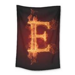 Fire Letterz E Small Tapestry