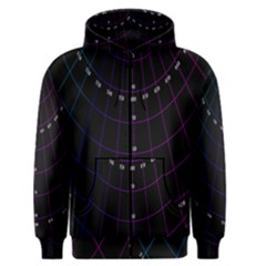 Formula Number Line Purple Natural Men s Zipper Hoodie