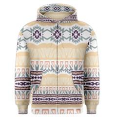 Tribal design        Men s Zipper Hoodie