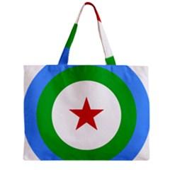 Roundel of Djibouti Air Force  Zipper Mini Tote Bag