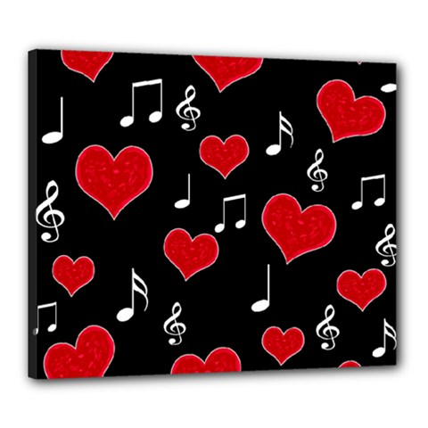 Love Song Canvas 24  X 20