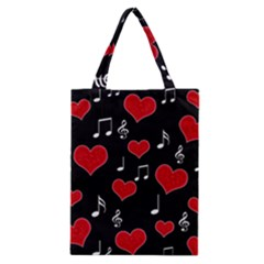 Love song Classic Tote Bag