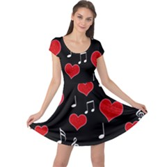 Love song Cap Sleeve Dresses