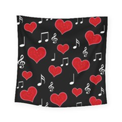 Love Song Square Tapestry (small)
