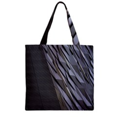 Architecture Zipper Grocery Tote Bag
