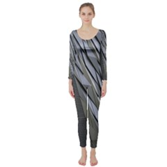 Architecture Long Sleeve Catsuit