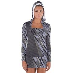 Architecture Women s Long Sleeve Hooded T-shirt