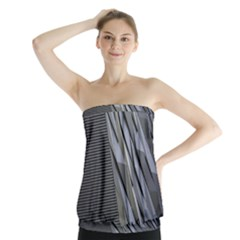 Architecture Strapless Top