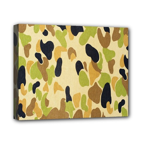 Army Camouflage Pattern Canvas 10  x 8