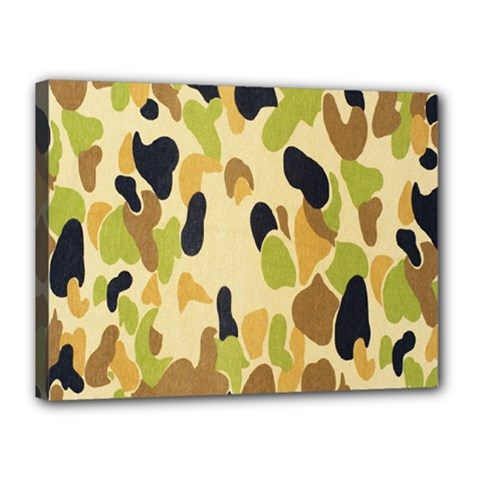 Army Camouflage Pattern Canvas 16  X 12