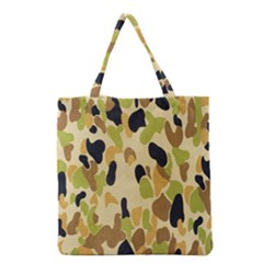 Army Camouflage Pattern Grocery Tote Bag