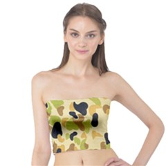 Army Camouflage Pattern Tube Top