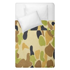 Army Camouflage Pattern Duvet Cover Double Side (single Size)