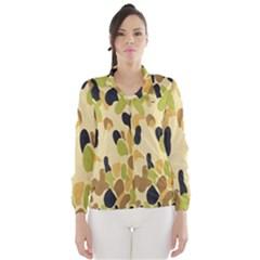 Army Camouflage Pattern Wind Breaker (Women)