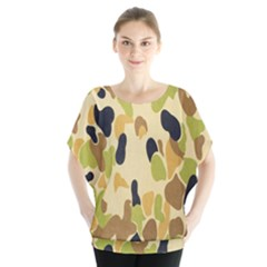 Army Camouflage Pattern Blouse