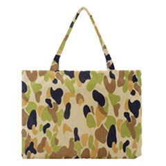 Army Camouflage Pattern Medium Tote Bag