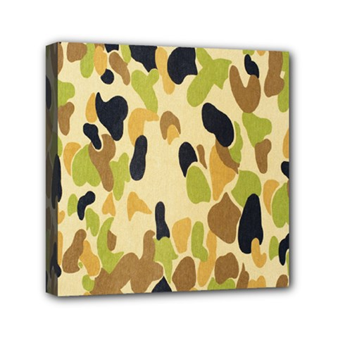 Army Camouflage Pattern Mini Canvas 6  x 6