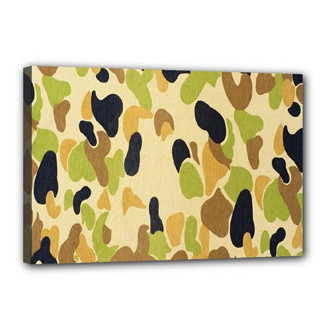 Army Camouflage Pattern Canvas 18  X 12