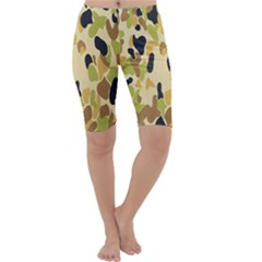 Army Camouflage Pattern Cropped Leggings