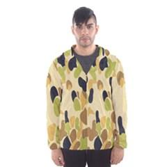 Army Camouflage Pattern Hooded Wind Breaker (Men)