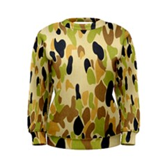Army Camouflage Pattern Women s Sweatshirt