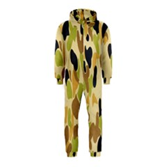 Army Camouflage Pattern Hooded Jumpsuit (kids)