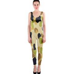 Army Camouflage Pattern OnePiece Catsuit
