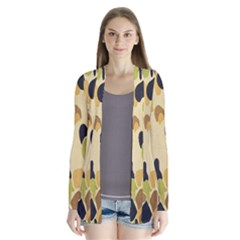 Army Camouflage Pattern Cardigans