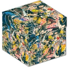 Art Graffiti Abstract Vintage Storage Stool 12