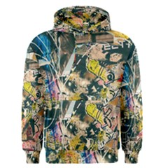 Art Graffiti Abstract Vintage Men s Pullover Hoodie
