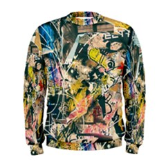 Art Graffiti Abstract Vintage Men s Sweatshirt
