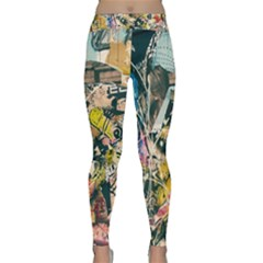 Art Graffiti Abstract Vintage Classic Yoga Leggings