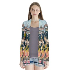 Art Graffiti Abstract Vintage Cardigans