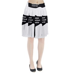 German Shorthaired Pointer Name Silo Pleated Skirt
