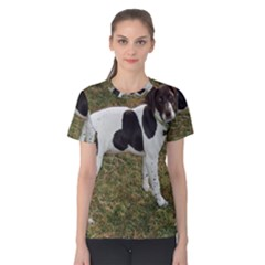 German Short Haired Pointer Puppy Women s Cotton Tee