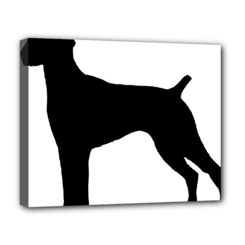 German Shorthaired Pointer Silo Deluxe Canvas 20  x 16
