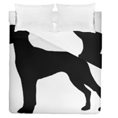 German Shorthaired Pointer Silo Duvet Cover Double Side (Queen Size)