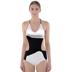 German Shorthaired Pointer Silo Cut-Out One Piece Swimsuit