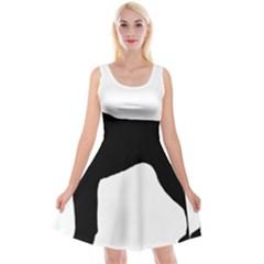 German Shorthaired Pointer Silo Reversible Velvet Sleeveless Dress